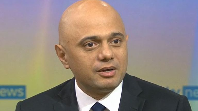 Sajid Javid says he believes in choice for patients to see GPs either in person or remotely