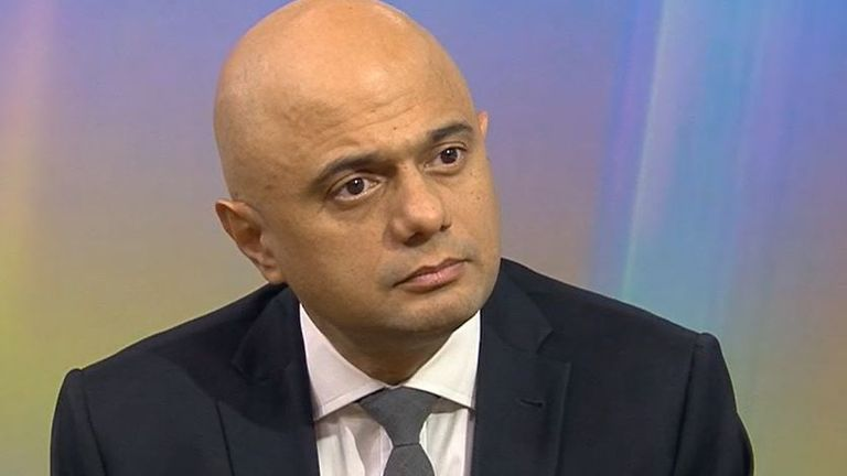 Sajid Javid is considering compulsory COVID jabs for NHS staff