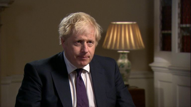 Prime Minister Boris Johnson says we need to 'make sure' nothing like the murder of Sarah Everard ever happens again.