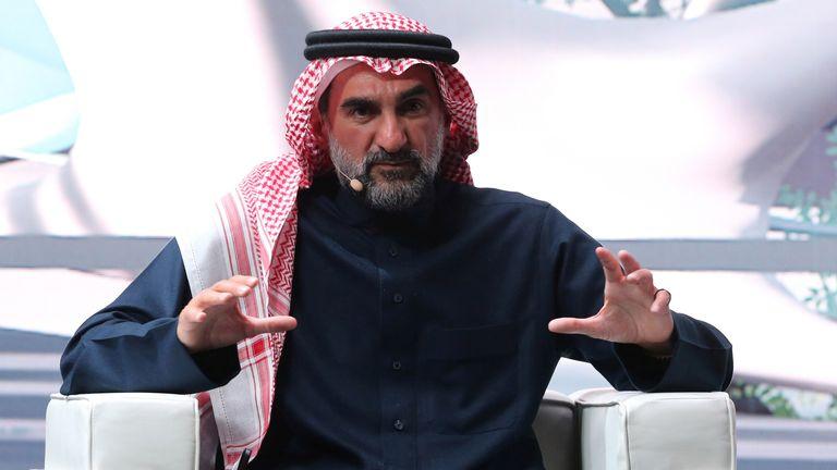 Governor of the Saudi Public Investment Fund, Yasir Othman Al-Rumayyan