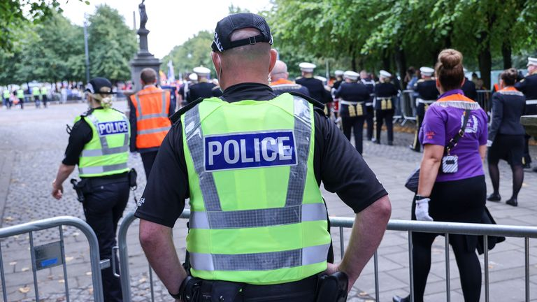 Police in Scotland have introduced the process to enable the public to verify if a police officer working on their own is genuine or not