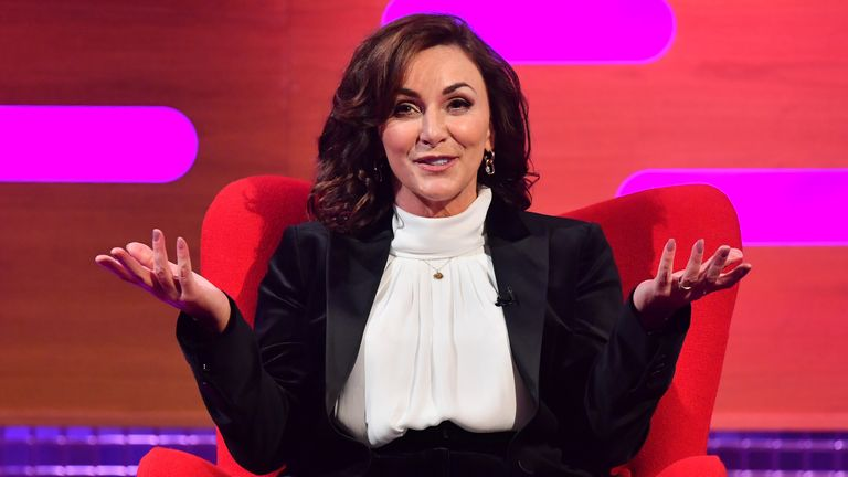 Shirley Ballas thanked viewers for pointing out the lump