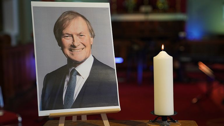 Sir David Amess was killed on Friday