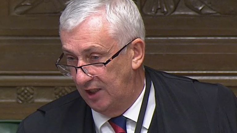 Sir Lindsay Hoyle is unhappy that details of the budget have been discussed with the media before being announced in the Commons