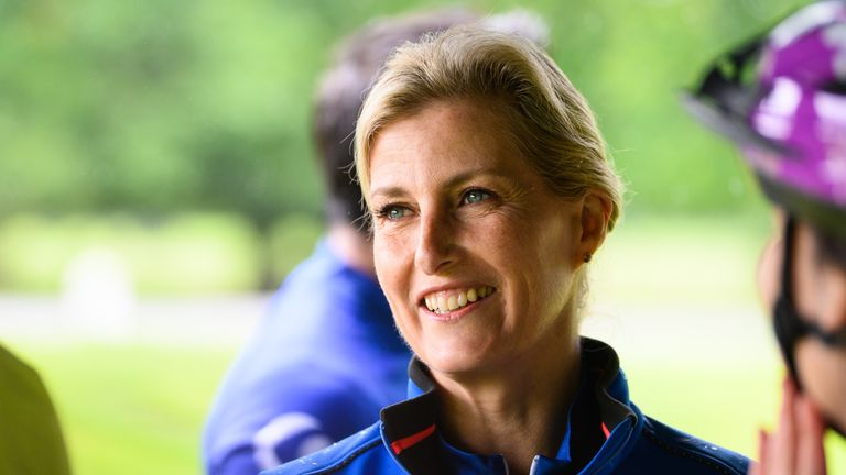 Sophie, the Countess of Wessex (file pic)