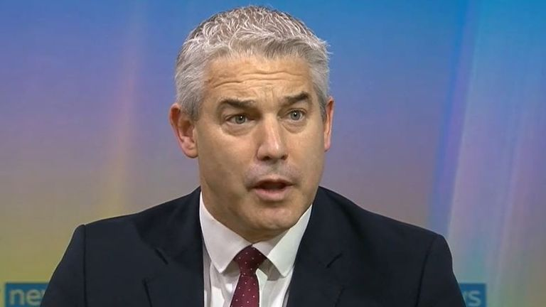 Steve Barclay cannot apologise on behalf of the government for failings highlighted in COVID report