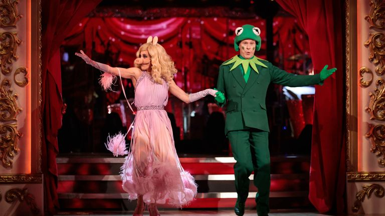 BBC undated handout photo of Diane Buswell, Robert Webb during the live show of BBC One's Strictly Come Dancing 2021 on Saturday. Picture date: Saturday October 9, 2021.