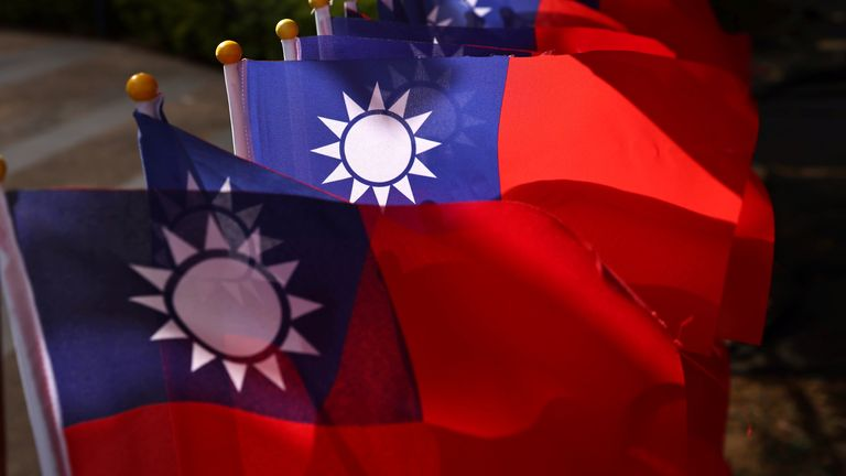 After the 1949 civil war, Taiwan split from China but Beijing claims that the island nation is still part of its territory