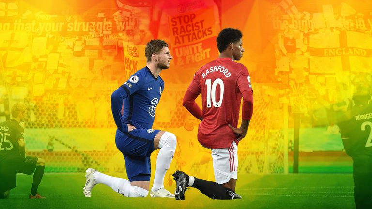 Footballers have been taking the knee before Premier League matches since June 2020