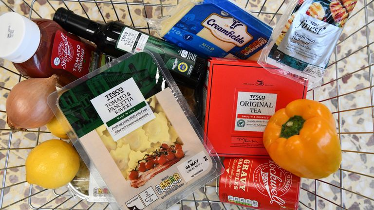 While grocery costs are going up, stiff competition among supermarkets should limit the extent of the increases at tills