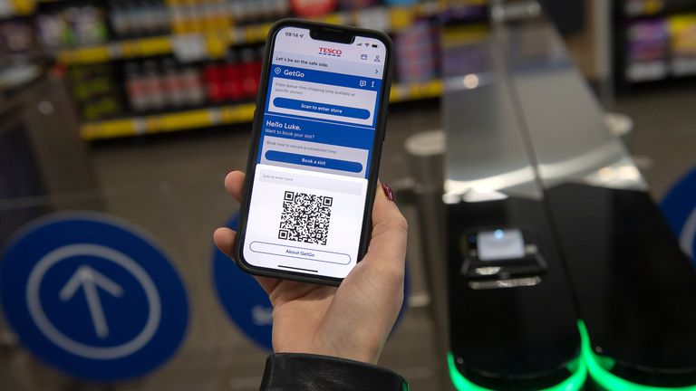 Tesco has trialed the technology in its headquarters since 2019