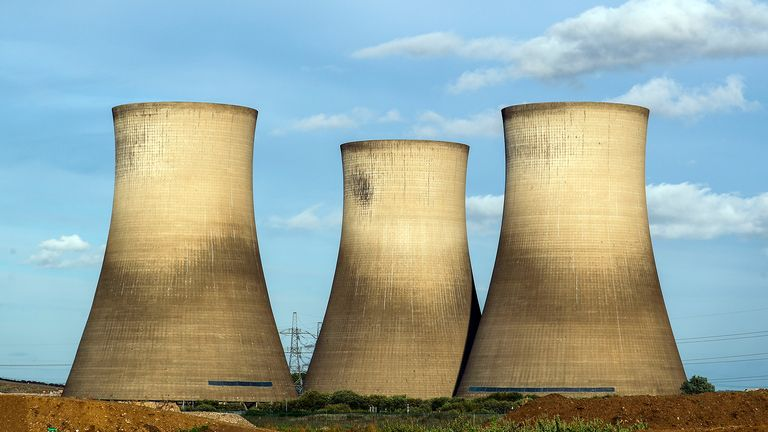 Nuclear energy might need to be considered for the UK to reach their green energy targets.