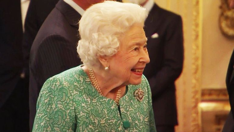 The Queen in good health at Windsor Castle