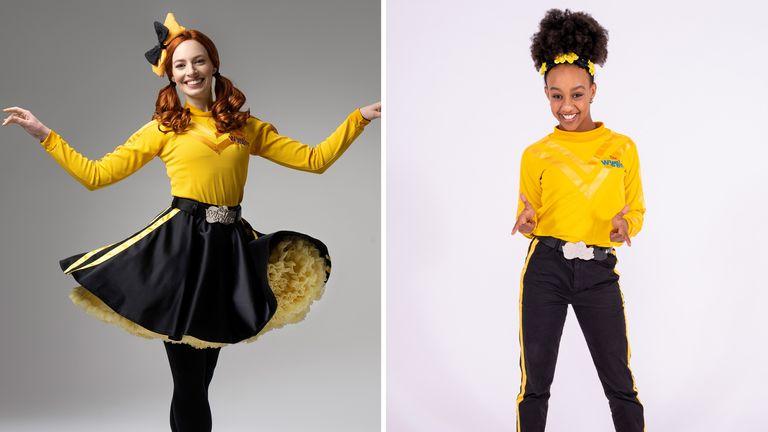 Emma Watkins will hand the yellow skivvy to Tsehay Hawkins