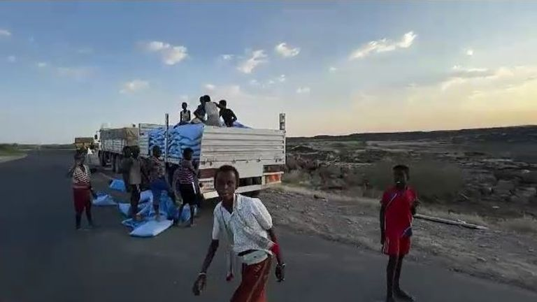 The UN's World Food Programme (WFP) tries to send emergency aid into Tigray but not everyone wants it to get through