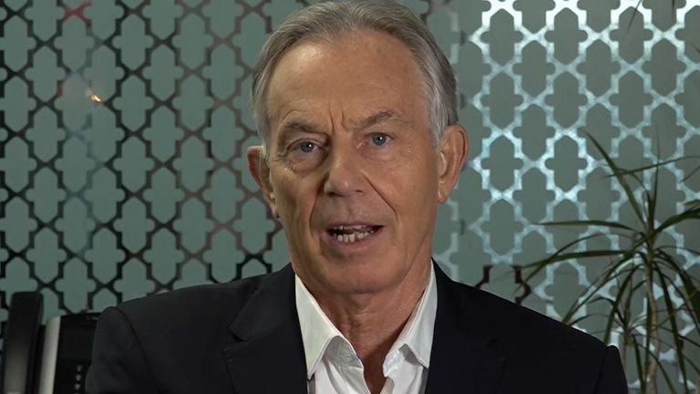 Tony Blair thinks vaccine booster rollout should be running faster