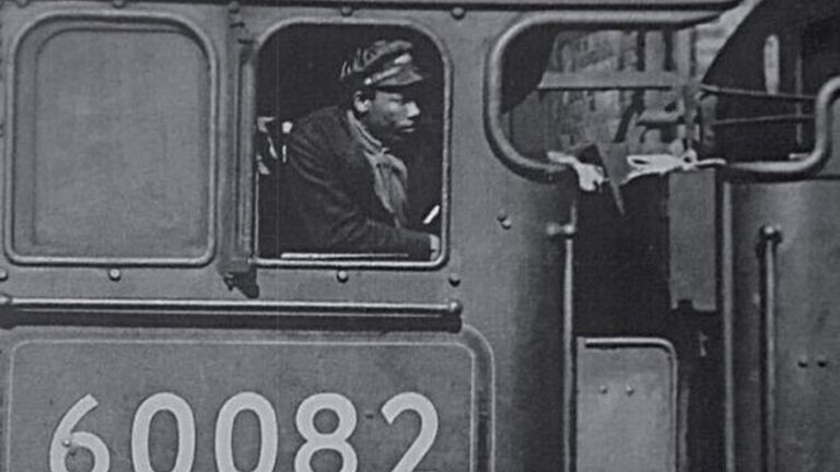 EMBARGOED TO 1330 MONDAY OCTOBER 25 Undated handout photo issued by Network Rail of Wilston Samuel Jackson who had a long and successful career on the railway, including driving famous locomotive Flying Scotsman. A plaque has been unveiled commemorating Britain's first black train driver. Issue date: Monday October 25, 2021.