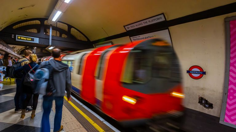 Tube journeys in the week are still only about 60% of pre-pandemic levels