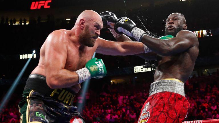 Tyson Fury v Deontay Wilder - WBC Heavyweight Title Boxing in Las Vegas Pic: AP