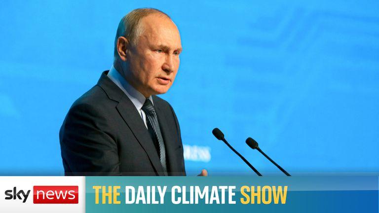 Vladimir Putin will not attend COP26