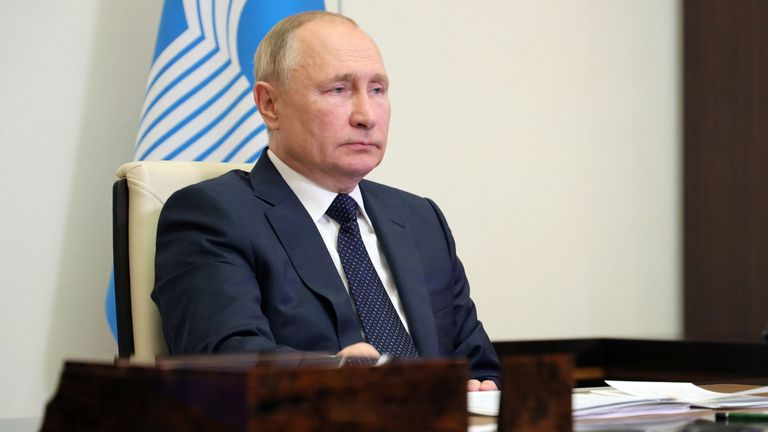 Vladimir Putin will send representatives for Russia in his place at COP26, the Kremlin has said