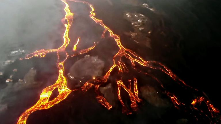The volcano has continued to spew lava, ash, and smoke into the air 24 days since it first began erupting.