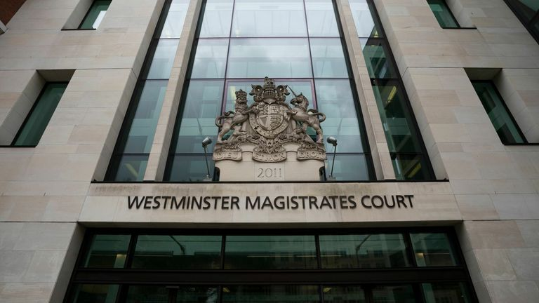 Westminster Magistrates Court. Pic: Will Oliver/EPA-EFE/Rex/Shutterstock