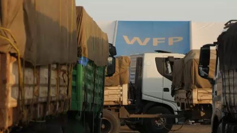 The UN's World Food Programme (WFP) tries to send emergency aid into Tigray