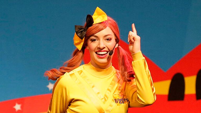 Yellow Wiggle, better known as Emma Watkins, will leave the group. Pic: AP