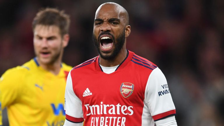 Alexandre Lacazette rescued a draw for Arsenal against Crystal Palace