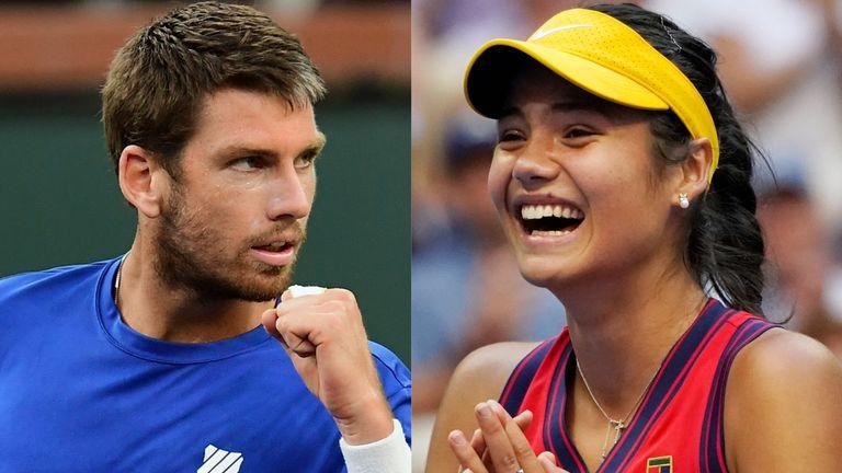 Cameron Norrie and Emma Raducanu - Tennis