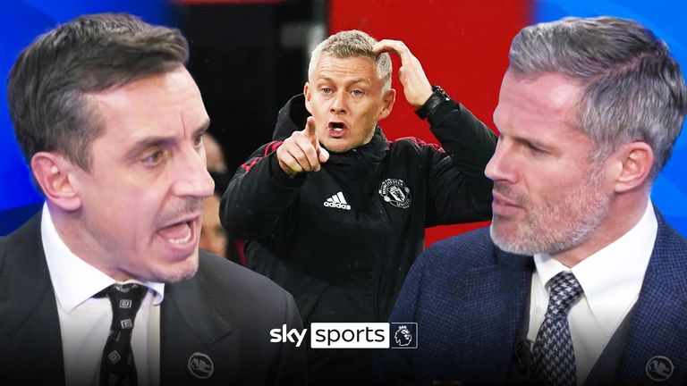 Carra and Nev on Ole
