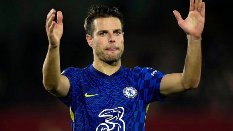Cesar Azpilicueta was part of another Chelsea clean sheet