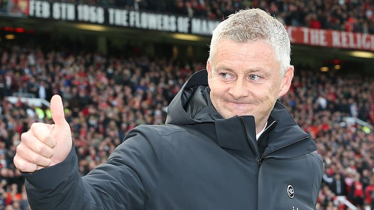 Ole Gunnar Solskjaer will remain Manchester United manager for now