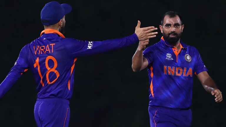 Virat Kohli and Mohammed Shami, T20 World Cup (Getty Images)